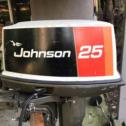 25hp Johnson Outboard Motor for Sale in Des Moines,  WA