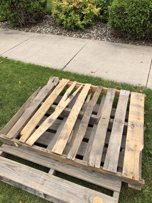 FREE - two wood pallets for Sale in Lakeville, MN