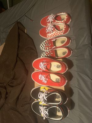 Vans all size 9.5 for Sale in Port St. Lucie, FL