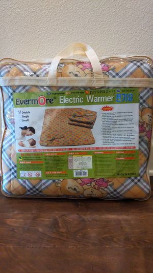 Electric Blanket for Sale in Tampa, FL