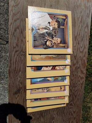 7 boxes of albums for Sale in Everett, WA