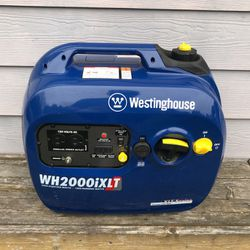 Westinghouse Inverter Gas Quiet Generator 2000 Watt Honda Yamaha Generac 2200 1800 2000 2k Watt Portable Camping for Sale in Bonney Lake,  WA