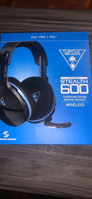 Stealth 600 turtle beach headset for Sale in Oxnard, CA