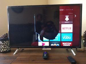 Half black screen 32 inch tcl flat screen TV for Sale in Charleston, SC