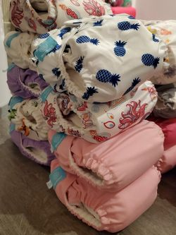 Charlie Banana Cloth Diapers ONE SIZE (Adjustable) for Sale in Los Angeles,  CA