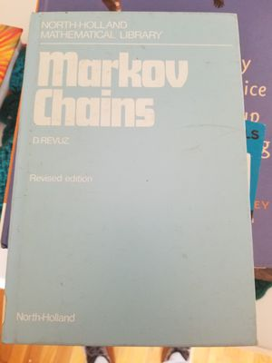 Markov Chains North-Holland Mathematical Library for Sale in Parkersburg, WV