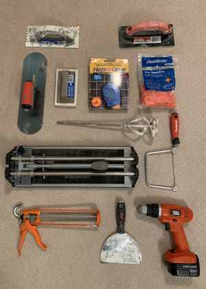 Tools Bundle | Tile work for Sale in Seattle, WA