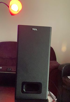 TCL SOUNDBAR /W SUBWOOFER for Sale in Nashville, TN