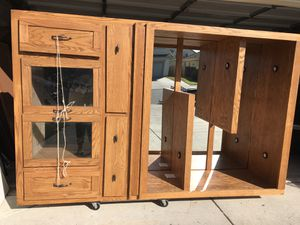 Great Hutch/Cabinets for Sale in Merced, CA