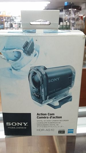 SONY ACTION CAMERA HDR-AS10 FULLHD ZEISS LENS 60M UNDERWATER FOR SALE!!! for Sale in Miami Beach, FL