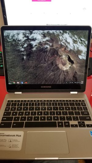 Samsung Silver Touch Screen Chromebook for Sale in West New York, NJ