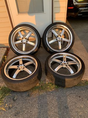 TSW 20x8.5 5x114.3 700$ obo for Sale in Springfield, MA