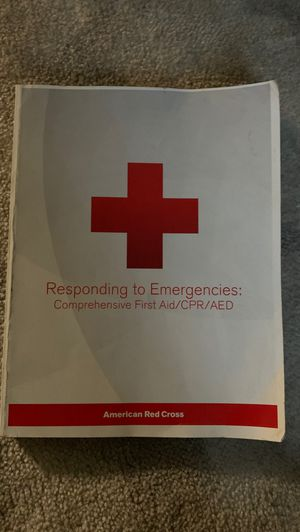 Responding to Emergencies Comprehensive First Aid/CPR/AED for Sale in Oakland, CA