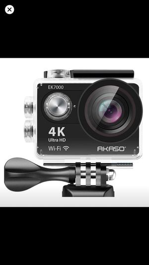 Akaso 4k action camera go pro NEW never opened for Sale in Ripon, CA
