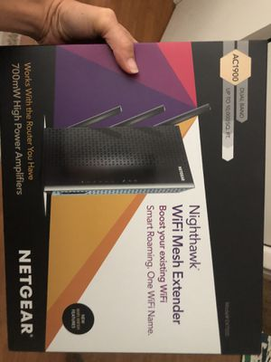 Netgear Nighthawk Mesh Extender AC1900 for Sale in Santa Monica, CA