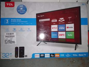 TCL 32 in Roku TV for Sale in Tice, FL