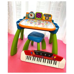VTech Touch Activity Kids Desk and Kids Keyboard | Kids Desk | Learning Toys 💗 for Sale in Miami, FL