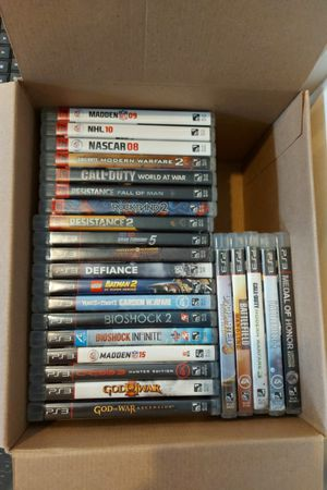 Playstation 3 Games - PS3 for Sale in Red Hill, PA
