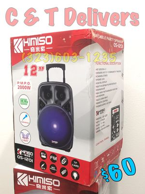 Big & Loud 💥 Mucho Party 💥 New In Box • 12 Inch - 2,000 Watts* Of Music • Bluetooth W/ 🎤 Included for Sale in Los Angeles, CA