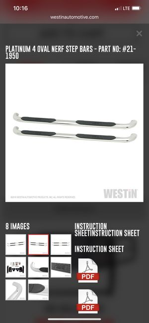 Westin Truck rails for Sale in San Diego, CA