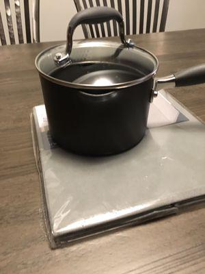 Anolon Advanced Hard Anodized 2-Quart Straining Sauce Pan for Sale in Washington, DC