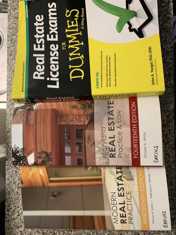 Real Estate text books