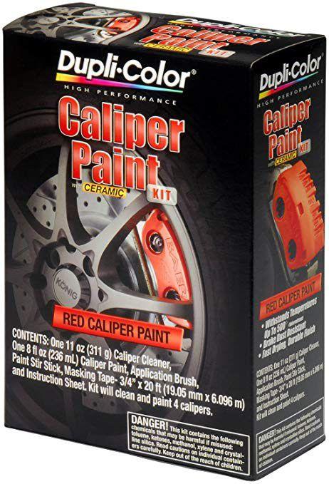 Duplicolor Caliper Paint Kit - Red