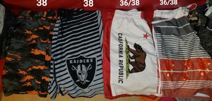 Shorts, Levis, cargo, basketball shorts, raiders for Sale in Oakland, CA