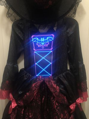 Light up witch costume for Sale in Winter Springs, FL