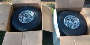 4 lug , rims and tires for go kart for Sale in Wenatchee, WA