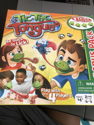Tic Tac Tongue Kid Game for Sale in Washington, DC