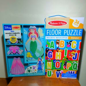 Melissa And Doug Dress Up And ABC Floor Puzzle for Sale in Elk Grove Village, IL