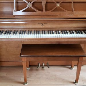 Sohmer Piano Console and Bench for Sale in Chicago, IL