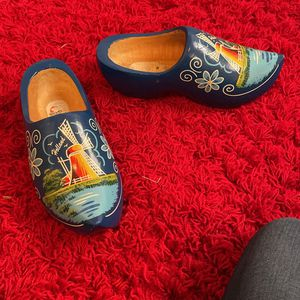cute holland wooden shoes size 7.5 for Sale in Winter Park, FL