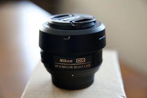 Nikon DX lenses for Sale in Fresno, CA