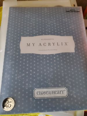Close to my heart large stamp sets $15 ea for Sale in Litchfield Park, AZ