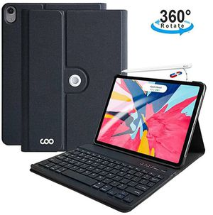 iPad Pro 11 Keyboard Case 2018, Textured Hard Case with Detachable Wireless Keyboard for 11 Inch iPad Pro 2018 (Support Apple Pencil 2 Charging) for Sale in Rancho Cucamonga, CA
