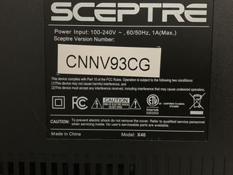 Sceptre Tv 32inch for Sale in Cleveland,  OH