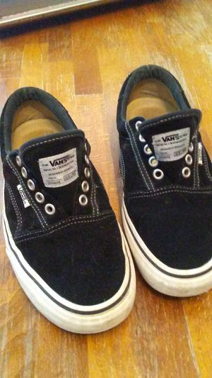 Vans black suede for Sale in Brooks, OR