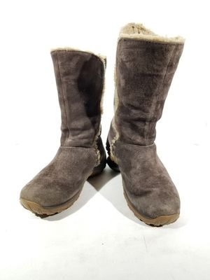 PATAGONIA LUGANO BROWN SUEDE WATERPROOF POLARTEC PRIMALOFT WOMEN'S BOOTS SZ 8.5 for Sale in Thornton, CO