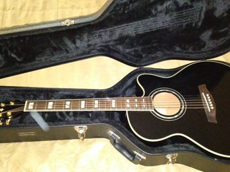 Ibanez Acoustic Electric Guitar AEL 30se with Case Like New for Sale in Phoenix,  AZ