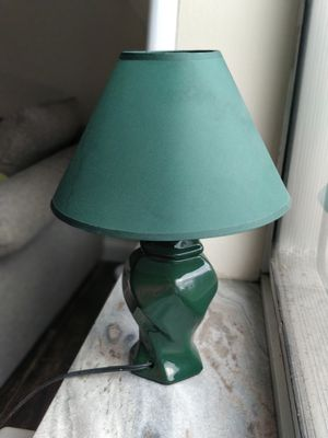 Small green lamp for cheap! for Sale in Cleveland, OH