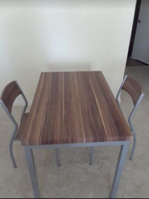 Dining table with two chairs for Sale in Sunnyvale, CA