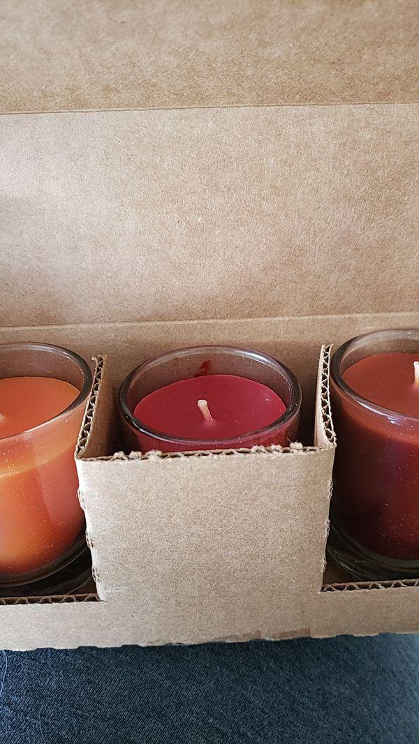 New Candle Tea Set
