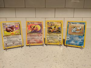 Pokemon cards 1ST EDITION Flareon, 1st edition eevee, Vaporeon, Jolteon for Sale in Staten Island, NY