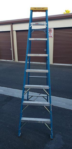 WERNER BRAND 8' FOOT 250 POUND FIBERGLASS UTILITY STEP LADDER LADDER for Sale in Las Vegas, NV