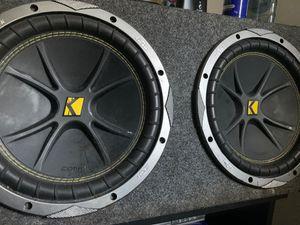 "Kicker 2 12"" with amplifier for Sale in Fort Lauderdale, FL"