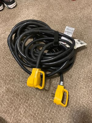 50' RV extension cord for Sale in Searles, MN