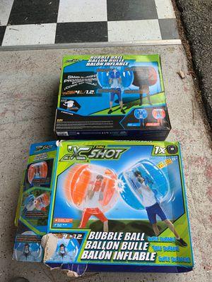 Bubble ball game, xshot. for Sale in Virginia Beach, VA