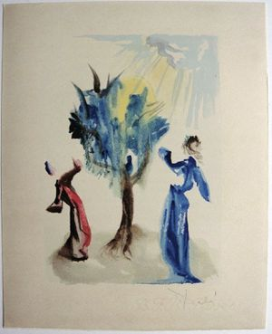 "Salvador Dali's ""Dante's Divine Comedy/Inferno Canto Twenty-fourth"" With COA for Sale in Pompano Beach, FL"